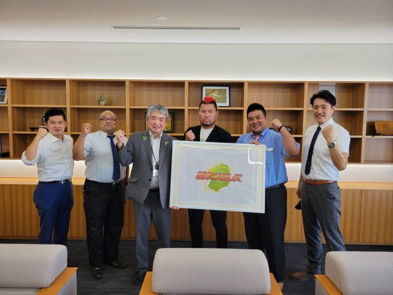 県内25市町表敬を宣言! 「栃木県内、全ての皆様にご挨拶したい!」(臼井代表)イメージ